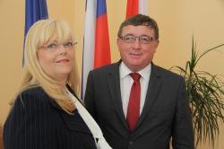 Melita Petelin in Andrej Fistravec