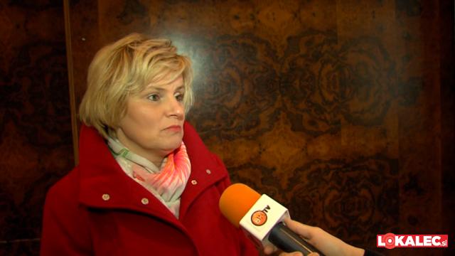 Bojana Muršič je kot podpredsednica DZ odstopila v ponedeljek.