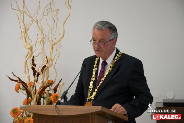 Anton Kovše, župan Občine Podvelka