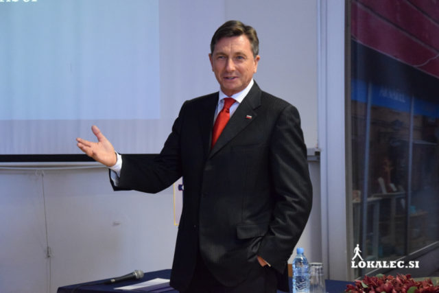 Borut Pahor, predsednik Republike Slovenije.