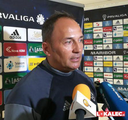 Darko Milanič, trener NK Maribora.