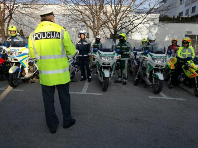 policija, motorji