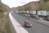 Zastoji ob prometni nesreči na AC Šentilj; VIR: promet.si