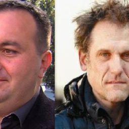 Saša Pelko, podžupan MO Maribor; Boris Krabonja, UPornik