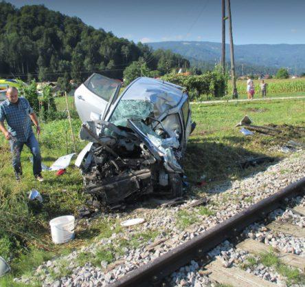 Prometna nesreča v Bistrici ob Dravi, vir: GB Maribor