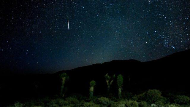 Zvezdni utrinki, meteortski dež, vir: Sensa.si