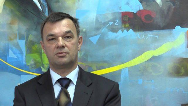 Andrej Tumpej, novi dir. DEM; vir: YouTube