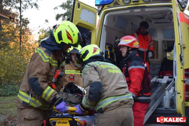 vaja resevanje pohorje, gasilci, resevalci (46)