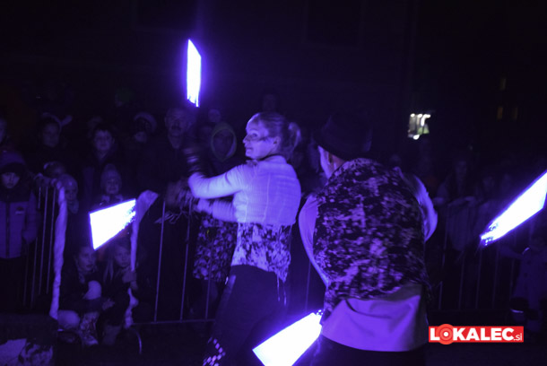 Laser show iz leta 2017