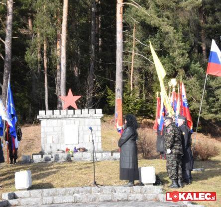 74. obletnica ustanovitve Zidanškove brigade na Sv. Primožu na Pohorju.