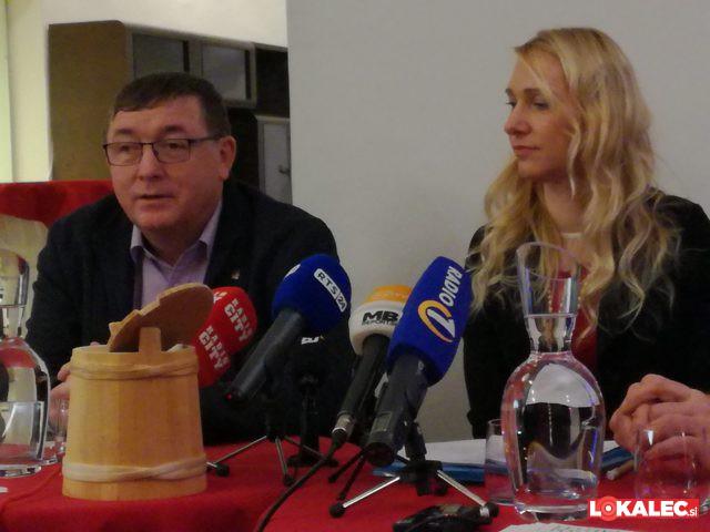 Andrej Fištravec, župan MO Maribor in Doris Urbančič Windisch, dir. Zavoda za turizem Maribor-Pohorje.