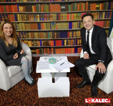 Vinko Filipič, član poslovodstva Pošte Slovenije, v oddaji Dialog na BK TV.