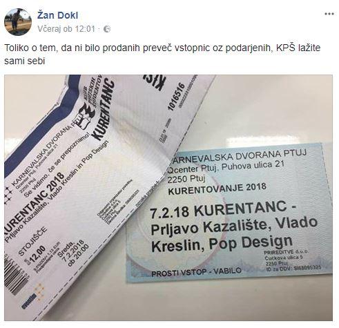 Vir: Facebook Kurentanc 2018