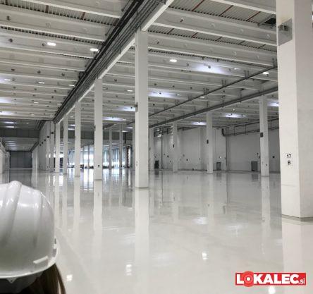 Gradbišče Magnine tovarne v Hočah marca 2018.