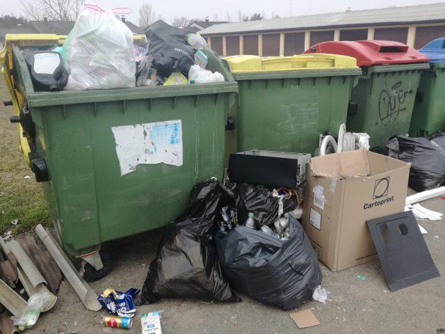smeti, odpadki, zabojnik, snaga