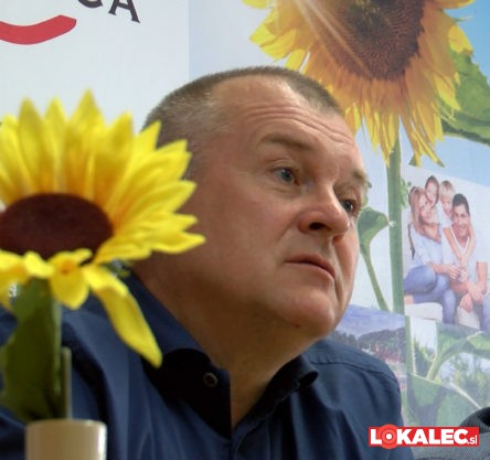 Franc Kangler, kandidat Združene desnice.
