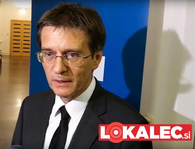 Zdravko Kačič na razglasitvi rezultatov volitev devetega rektorja Univerze v Mariboru.