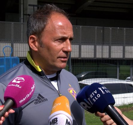 Darko Milanič, trener NK Maribor