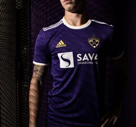 Luka Zahovič v novem dresu NK Maribora.
