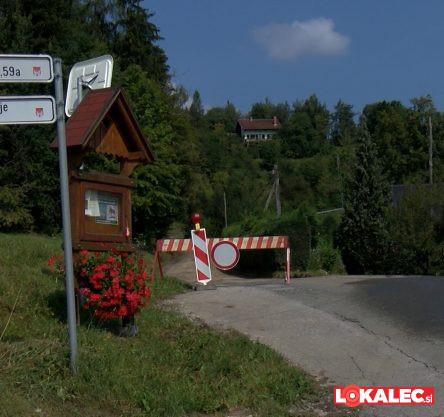 Zaradi obnove zaprta cesta na Žavcerjev vrh.
