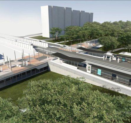 gradnja podvoza ljubljanska - grafično