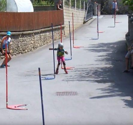 in-line slalom Vuzenica