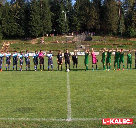 NK Pohorje za začetek sezone na obnovljenem stadionu gostili Šampione iz Celja.