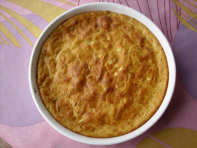 sirova pita v pekaču