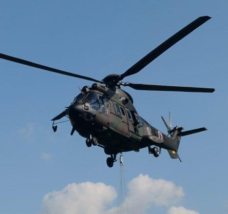 Vojaški helikopter; FOTO: U.Z