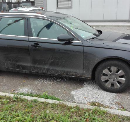 Ukraden Audi A6 na Središče