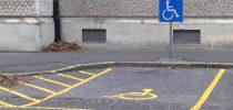 Parkirno mesto za invalide