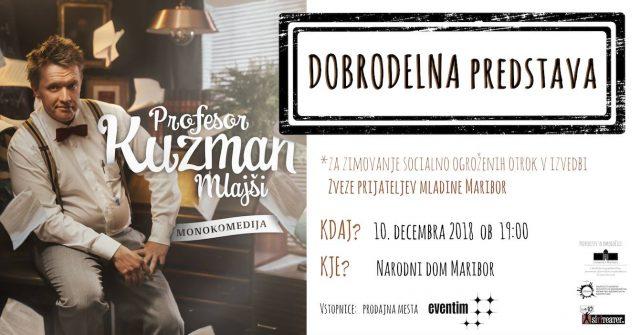 Dobrodelna predstava Profesor Kuzman mlajši
