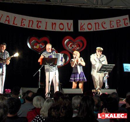 Primorski fantje na valentinovem koncertu na Muti
