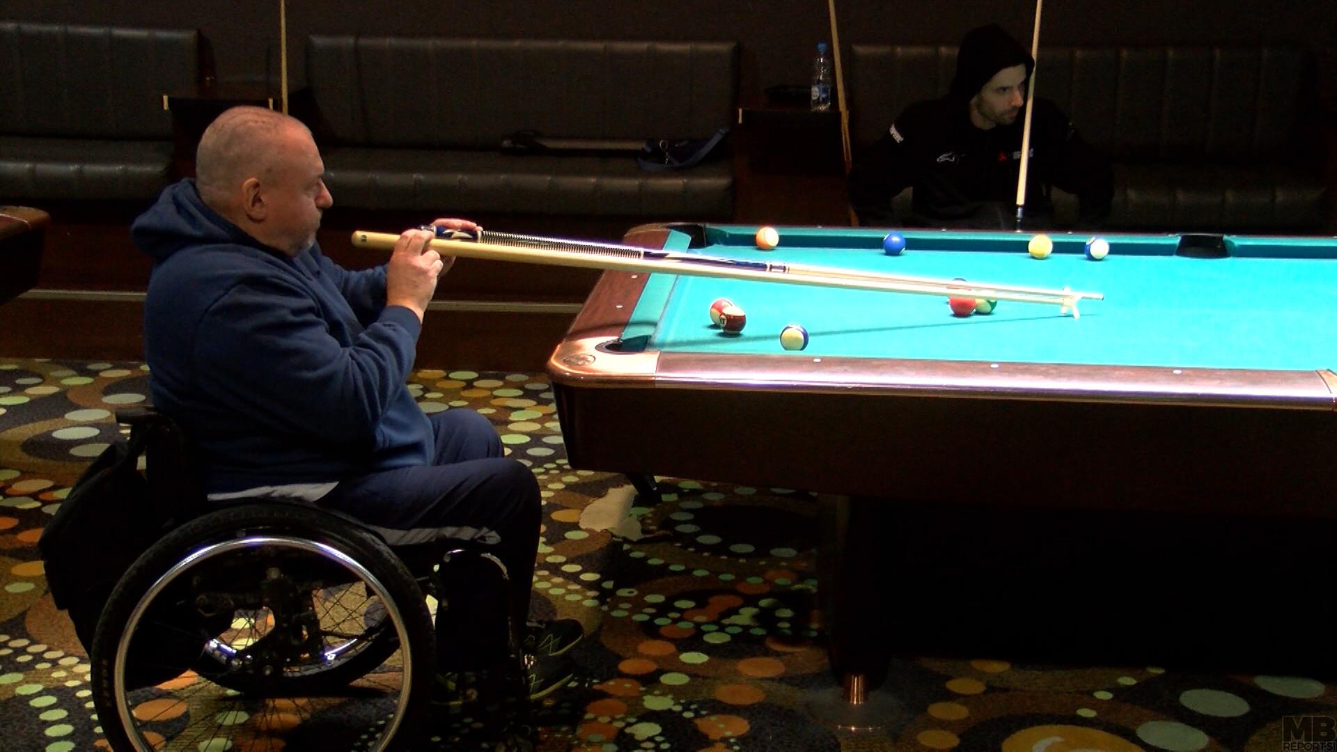 Biljard turnir paraplegikov
