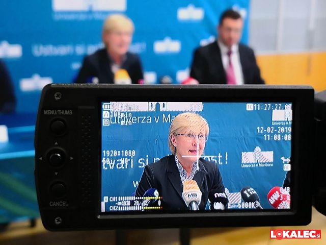 Novinarska konferenca Univerze v Mariboru na temo informativnih dnevov