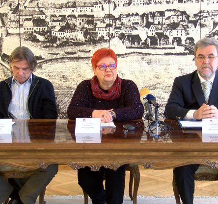 Bojan Labovič, Urad za kulturo MO Maribor; Zdenka Križanič, predsednica Odbora za Glazerjeve; Zdravko Luketič, podpredsednik Odbora za Glazerjeve