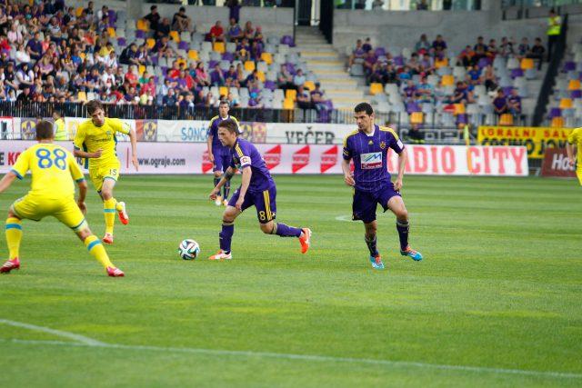 NK Maribor:Domžale. Foto: M. Pigac