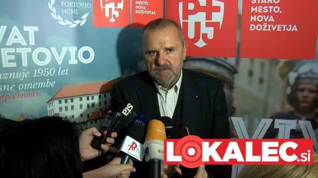 Zoran Poznič, minister za kulturo