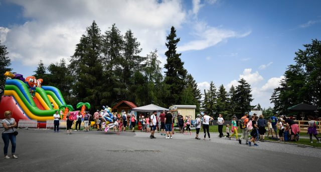 Športni vikend Maribora privablja mnogo obiskovalcev. Foto: M. Pigac