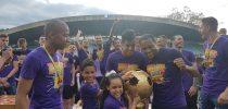 Kapetan vijoličastih, Marcos Tavares, ob pokalu državnih prvakov
