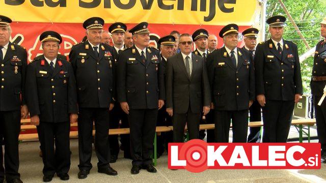 Visoki gosti na gasilski paradi PGD Destrnik
