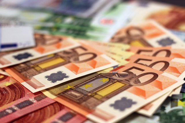 denar, 50 evrov