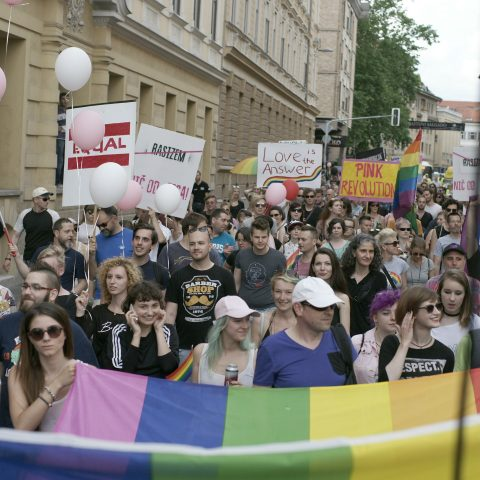 Parada ponosa v Ljubljani. Vir: Društvo Parada Ponosa