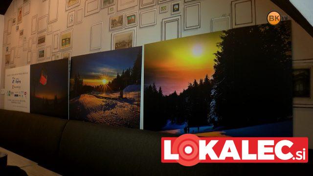 Vse tri fotografije avtorja Marka Pigaca so na dražbi prodali v skupni vrednosti 410 evrov.