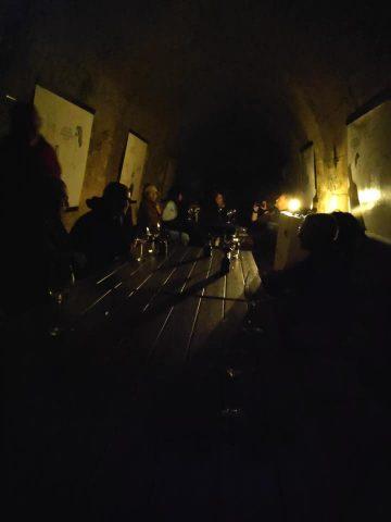 Degustacija vin v temi. Vir: Facebook Tura Ptuj