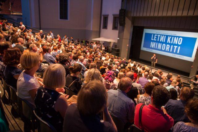 Letni kino Minoriti, Almodovar FOTO: Boštjan Lah