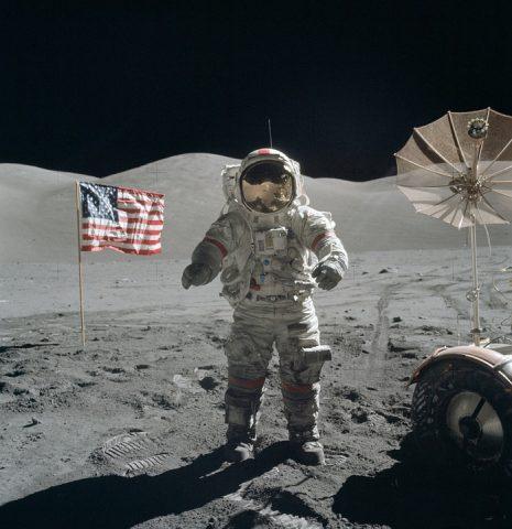 Pristanek na Luni (slika je simbolična). Vir: pixabay.com