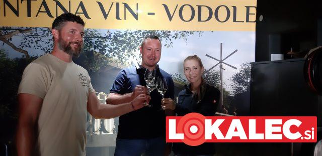 Predstavitev načrtov za fontano vin v Vodolah
