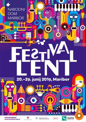 Plakat Festivala Lent 2019. Vir: Facebook Festival Lent 2019
