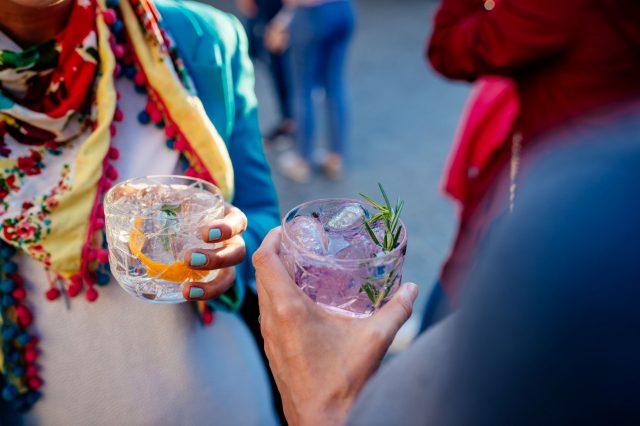Gin tonik; FOTO: Odprta kuhna